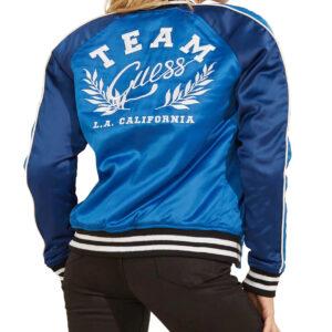 Team Guess LA California Satin Jacket