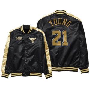 Thaddeus Young Chicago Bulls 1998 Satin Jacket