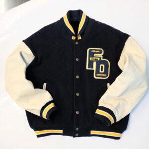 Vintage 90s First Down USA Varsity Jacket