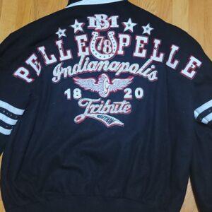 Vintage Blue Pelle Pelle Wool Jacket