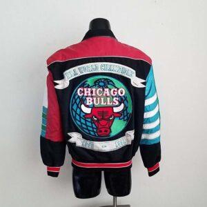 Vintage Chicago Bulls 90 - 91 Varsity Jacket