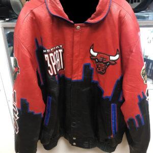Vintage Chicago Bulls Three Peat Jeff Hamilton Jacket
