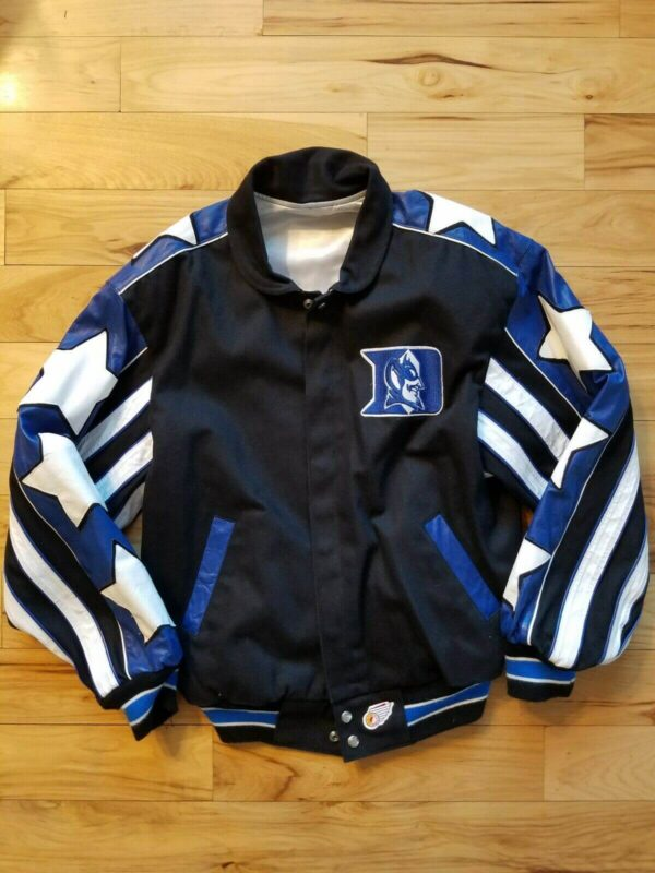 Vintage Duke Blue Devils Jeff Hamilton Reversible Jacket