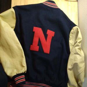 Vintage Letterman Baseball Varsity Jacket