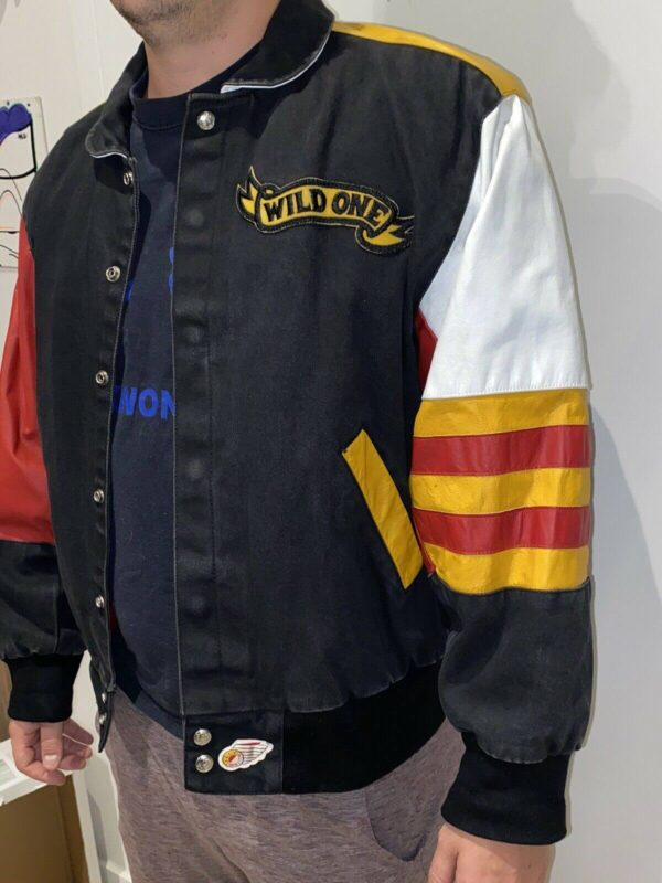Vintage Mickey Mouse Wild One Jeff Hamilton Jacket
