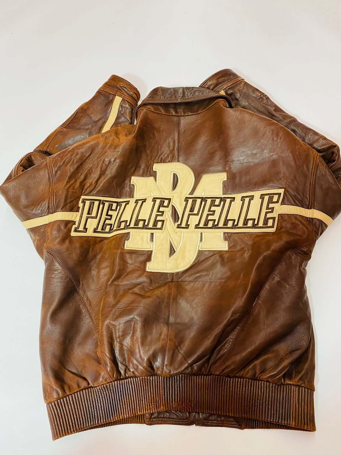Vintage Pelle Pelle Brown Marc Buchanan Leather Jacket