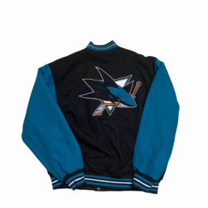 Vintage Reversible San Jose Shark Jeff Hamilton Jacket