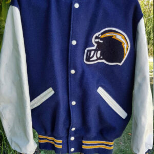 Vintage San Diego Chargers Football Varsity Jacket