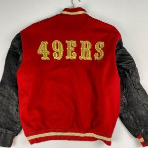 Vintage San Francisco Red 49ers Varsity Jacket